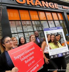 Orange Property Services Gravesend Image Shows, The Locals, Campaign, Orange, Instagram