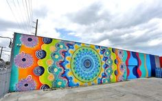 Colorful Patterned Murals More