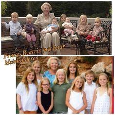 Oma Beatrix met haar kleinkinderen (NL) 2007-2015
