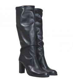 Heeled Boots, Bootie Boots, Leather Boots, Booty, Heels, Fashion, High Heel Boots, Heel, Moda