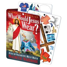 What Would Jesus Wear Magnetic Play Set Its rarely mentioned, but Jesus had a great sense of humor. One reason the sermon on the mount went over so well is that he opened with a few real zingers. At the Last Supper, his impression of Pontiu http://www.MightGet.com/january-2017-13/unbranded-what-would-jesus-wear-magnetic-play-set.asp