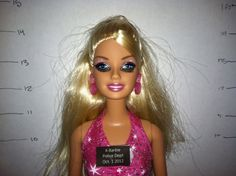 Controversial barbie dolls: Before this digital age of iPads, tablets and other handheld electronic devices, there were Easy Bake Ovens, Polly Pockets and t Humor Barbie, Barbie Funny, Bad Barbie, Barbie And Ken, Bratz Doll, Barbie Dolls, Barbie Mala, Cartoon Profile Pictures, Cartoon Pics
