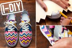 Cute DIY shoes!