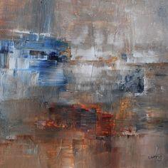 umj.art - Ulla Maria Johanson: 2017-11-19 #1105PartlyAcrylic on boaard, 15x15 c...