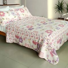 Affectation Style Quilt Set (Full/Queen Size)