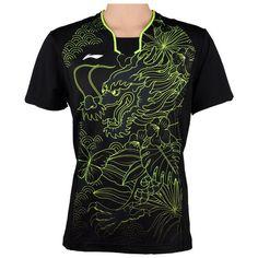 828e698787e72 Men Table Tennis Sport T-Shirt Quick Dry Breathable Training Badminton Sports  T-Shirts