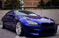 BMW F06 M6 Gran Coupe blue