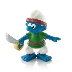 Pirate Smurf #20762 - New for 2014