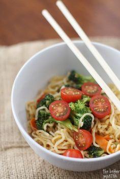 Upgraded ramen noodles recipe