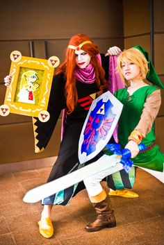 Yuga and Link by TOWN cosplays (France) #ALBW