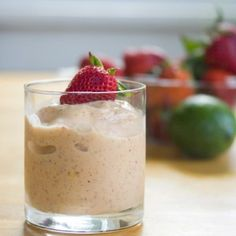 Green Tea, Coconut and Tropical Fruit Smoothie