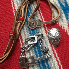 Barnstormers! (lead belly, son house, made in japan, bracelet, necklace, arrow, silver)