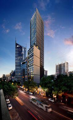 Fkd Studio Tower Design Inium Willis Melbourne Sydney Skyser