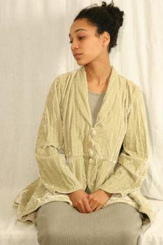 cute silk velvet jacket
