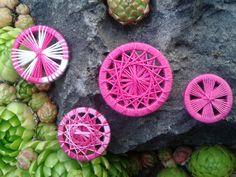 pretty in pink verschiedene Grundtechniken in rosa und rosameliert