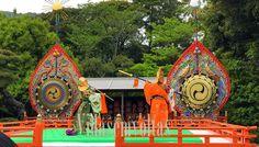 """Kagura, ritual xintoísta sacro artístico de oferenda aos deuses - """"Vidasemvoltas"""""""