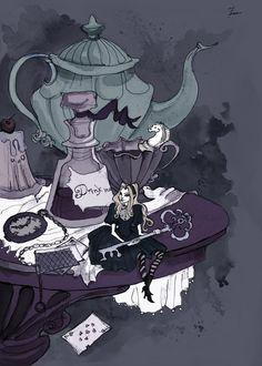 Little Alice by IrenHorrors on deviantART