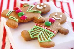 These gingerbread men are both fun and easy to make, and, what