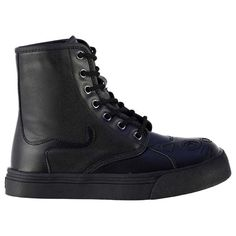 TUK Kitty High Boots Ladies available online now - order yours Today! High Boots, Ankle Boots, Sports Direct, Cat Face, Ankle Length, High Top Sneakers, Footwear, Lace Up, Kitty