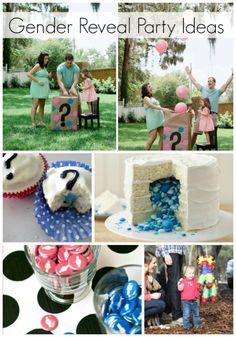 Fun gender reveal ideas