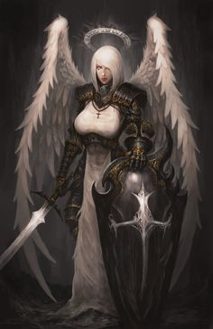 The Templar Knight by shizen1102.deviantart.com on @DeviantArt - More at https://pinterest.com/supergirlsart #female #fantasy #art