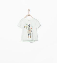 ZARA - KIDS - SEA WOLF PRINTED T-SHIRT