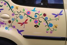 dragonfly car stickers | Hippy Motors car stickers vinyl decals transfers