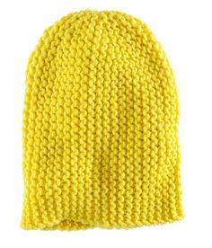 H Beanie – Yellow!
