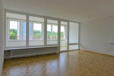 Wohnbaugenossenschaft Aarau 1961  Zu vermieten an der General Guisan-Str. 60 in Aarau eine grosse  3-Zi-Wohnung Windows, Real Estates, Living Room, Homes, Ramen, Window