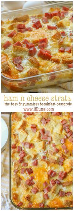 Cheesy Ham n Cheese