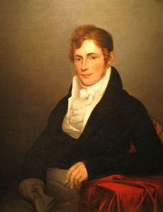 Portrait of Robert Waller, by James Peale, 1817. San Antonio Museum of Art