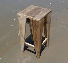 Recycled Pallet Stool                                                                                                                                                                                 More