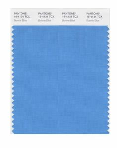 Pantone Smart 16 4134x Color Swatch Card Bonnie Blue House Paint