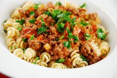 Light Beef Bolognese - 8 Points + - LaaLoosh