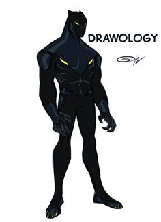 The Art Blog of Sketch Master Skillz: Redesign Black Panther