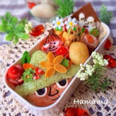 Snufkin & Little My Bento