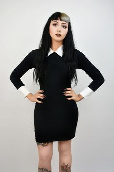 Dude I want a Wednesday Addams dress!