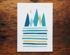 Mountains print / Scout's Honor Co.