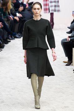 Celine Fall 2013 RTW 21 - flared midi skirt