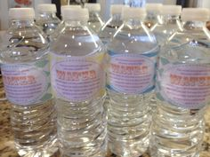 """FREE water bottle label download     Do-It-Yourself Water Bottle Labels for Church, John 4:13-14     """"Jesus answered and said...whosoever drinketh of this water shall thirst again, but whosoever drinketh of the water that I shall give him shall never thirst."""""""