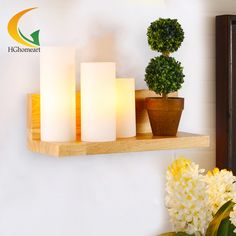 86.93$  Watch here - http://alilyd.worldwells.pw/go.php?t=32543583976 - bedroom bedside lamp creative Nordic countryside simple wood warm living room entrance hallway stairs single head lamp