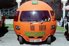 Culture: the Historic Commercial Vehicle Society - the Outspan Orange Car