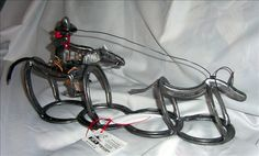JR's Horseshoe Art, Metal Art,Blacksmithing - Photo Gallery