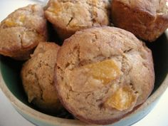 Southern Plate's Peach Cobbler Muffins
