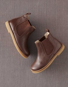 @BodenClothing Leather Chelsea Boots