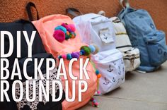 Get AHEAD of the BACKpack trend! Update your backpack with these 5 fun and chic DIY backpacks! Click on the links in the video for the DIY details on each pr...