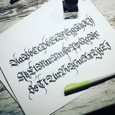 BeerOne Calligraphy Fraktur