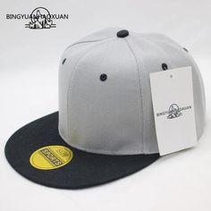 4d7121f17 BINGYUANHAOXUANBrand Snapback Baseball Cap For Women Men Couple Hip Hop Hat  Simple 11 Colors Double Layer