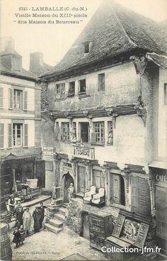 """Lamballe (22) ~ """"Vieille maison du XIIIème siècle"""""""