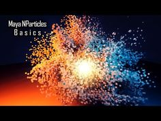 """In this tutorial i'm going to show you guys how use the powerful particles system inside of autodesk maya 2018 known as the """"NParticles"""" we are going to star."""